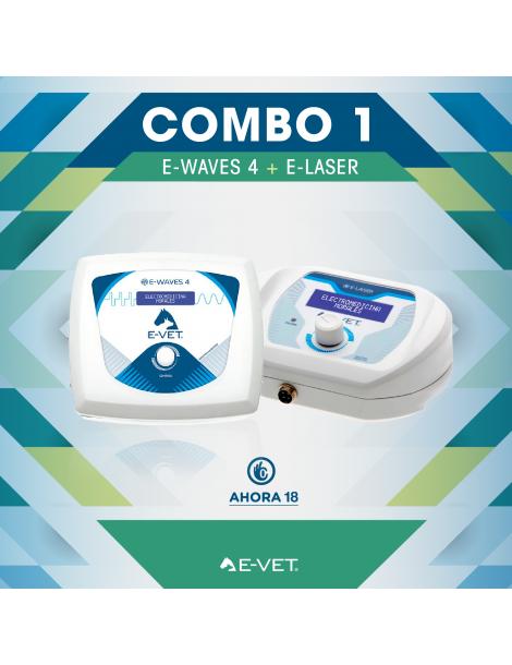 Combo 1 - E-waves 4 VET + E-laser VET