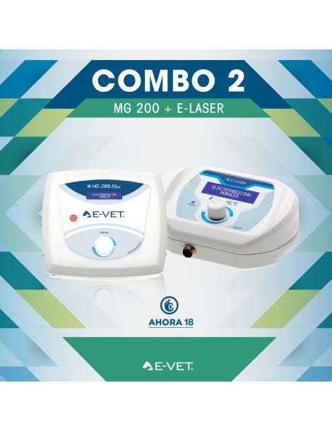 Combo 2 - MG 200 VET + E-LASER VET