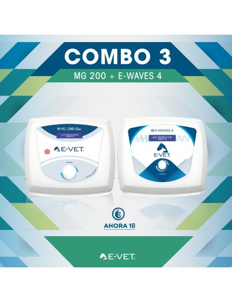 Combo 3 - MG 200 VET + E-WAVES 4 VET