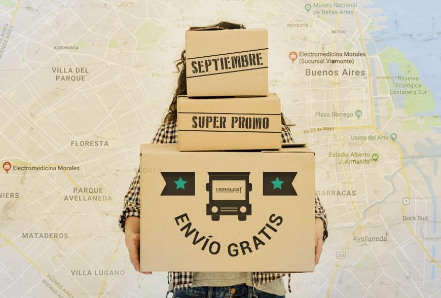 Septiembre: ¡Promo ENVÍO GRATIS!