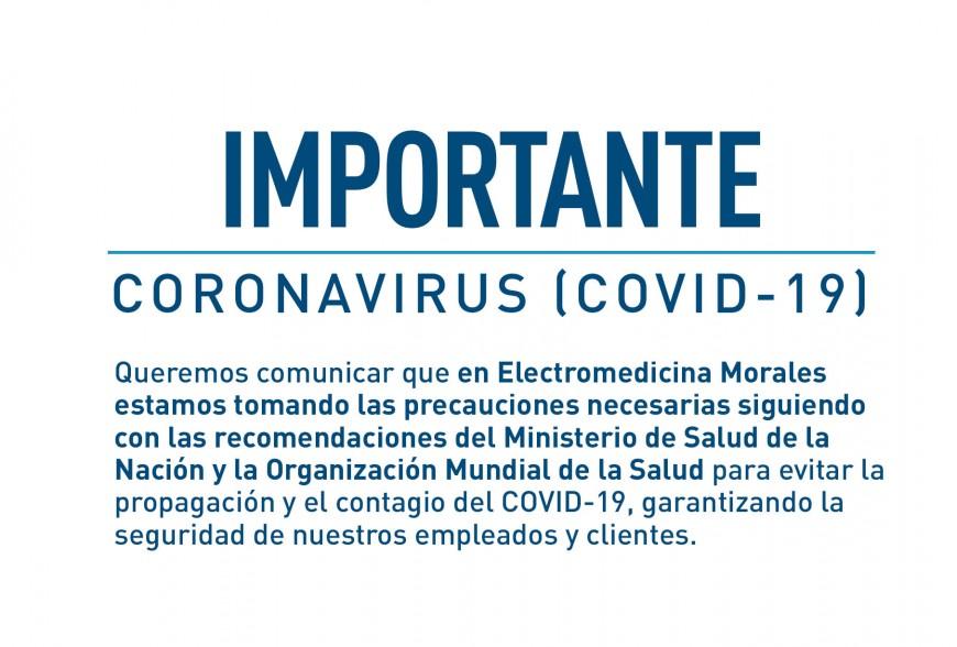 Importante - Coronavirus