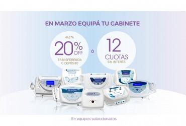 ¡En MARZO aprovechá las oportunidades que Electromedicina Morales tiene para vos!