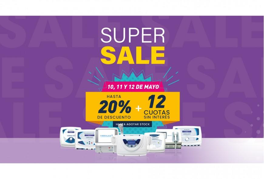 ¡Super Sale! Hasta el 16 Mayo